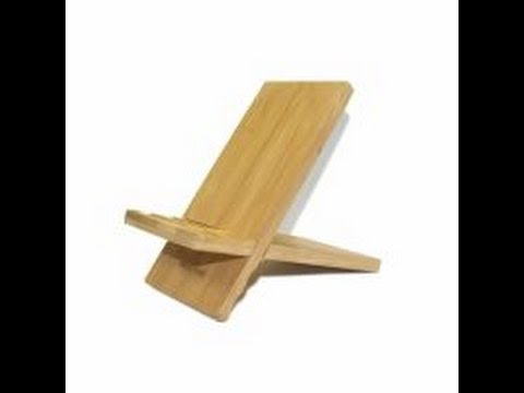 Bamboo Stand for Cell Phones