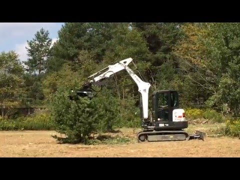 Raptor Mulching Head for Mini Excavators