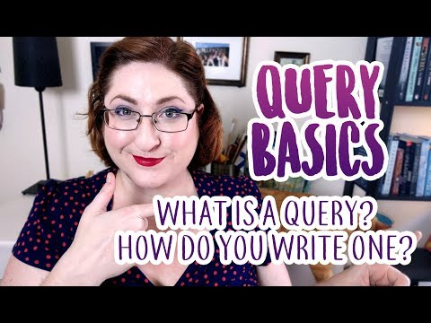 Query Basics (How To Get A Literary Agent)