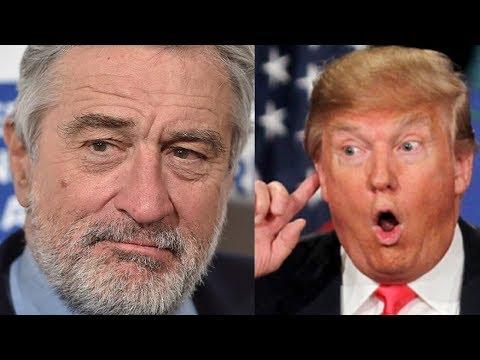 Robert De Niro Calls Trump a 'Scumbag'