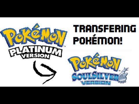 How to transfer Pokémon from Platinum to Soul Silver