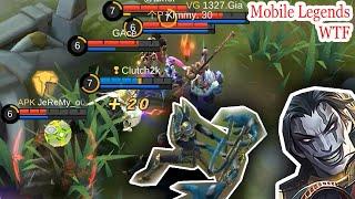 WTF Mobile Legends Funny Moments |300 IQ KHUFRA Lucu
