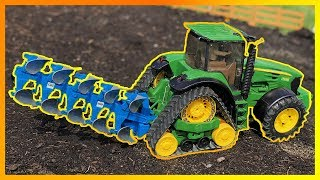 By Toyz Rule John Deere Farming With Plow