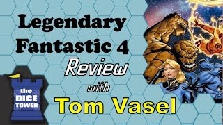Download Legendary: Fantastic Four Review - with Tom Vasel Video