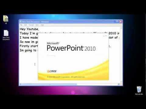 SV HowTo: How to convert Microsoft Office 2010 to Microsoft Office 2003 ®
