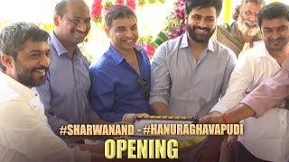 Sharwanand and Hanu Raghavapudi Movie Opening Video | TFPC