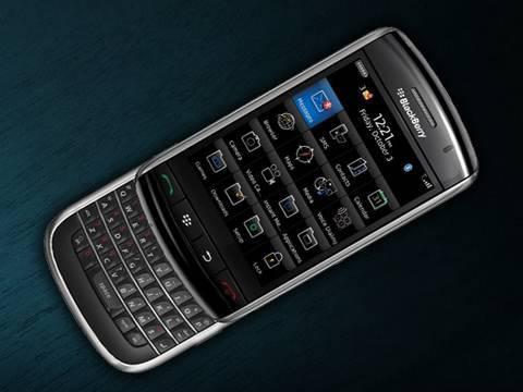 BlackBerry Slider Leaked!