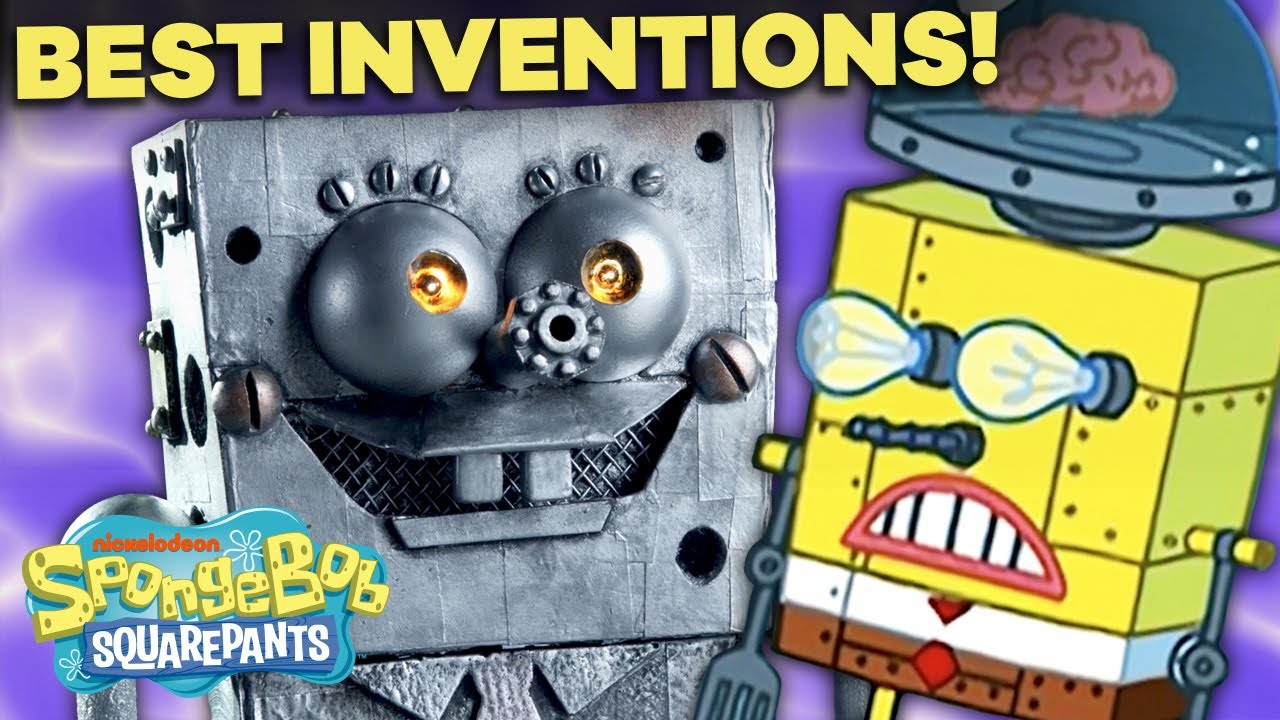 Top 63 Greatest Inventions from SpongeBob SquarePants! 🤖