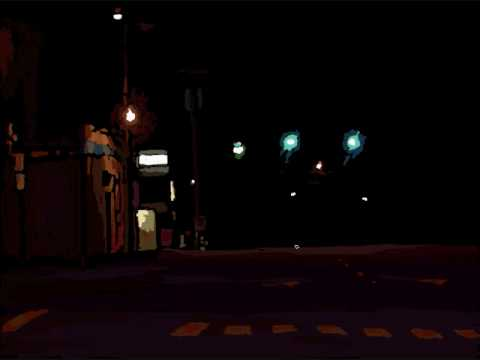 Driving At Night Abstract-004 speedpainting.wmv