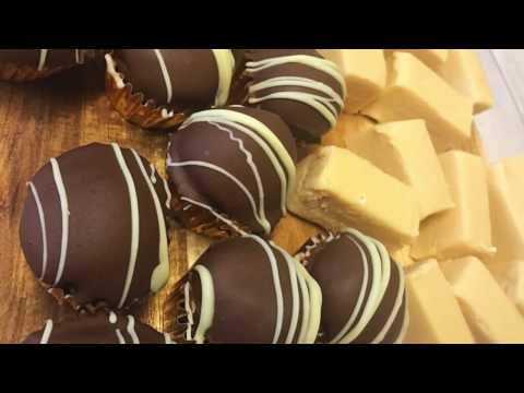 Grown up Baileys truffles and Baileys Fudge! Irish cream recipes & tutorial!