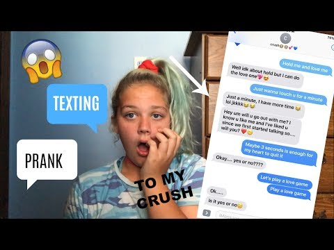 TEXTING LYRIC PRANK TO MY CRUSH!!!(ASKS ME OUT)
