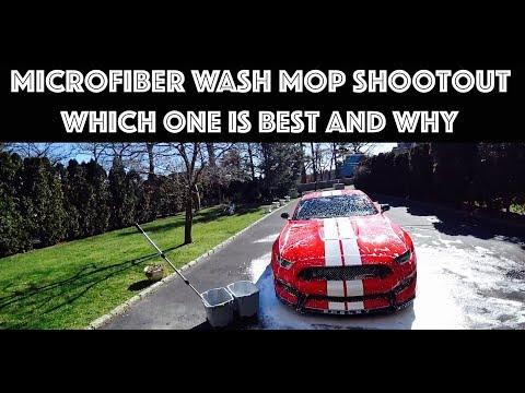 Griots Garage vs Microfiber Madness Wash Mop Shootout