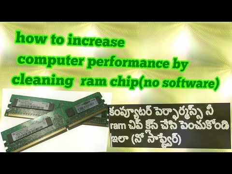 how to speed up computer by cleaning ram - clean ram and speed up windows xp, vista,7,8,8.1,10