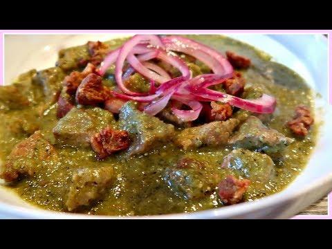 Pork in Green Salsa Recipe ( How to) Puerco en Salsa Verde