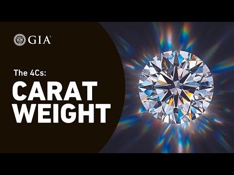 4Cs of Diamond Quality: Diamond Carat Weight Grading by GIA