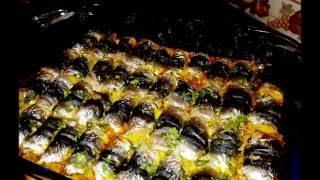 #x202b;صينية سمك السردين محشو بالارز  طبق غاية  في الروعة#x202c;lrm;