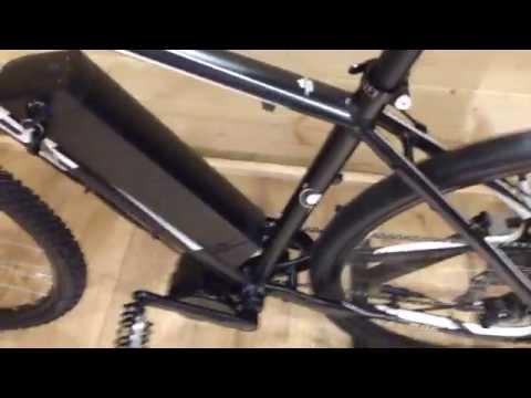E Bike - Cube Ltd Pro Installed with Bafang 250w mid drive ebike