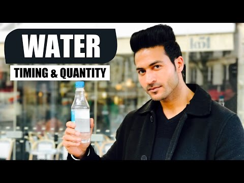 WATER - When to Drink & How much to Drink | Info by Guru Mann
