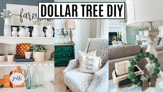 High End Dollar Tree DIY - Easy Farmhouse DIYs 2020 - Home decor ideas