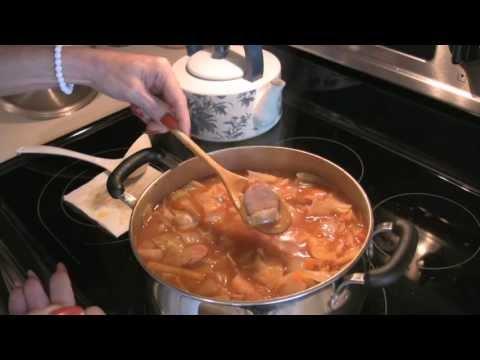 Nativerobin's Smoked Sausage Cabbage Soup!
