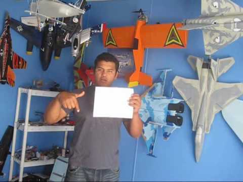 how to build a rc airplane from scratch