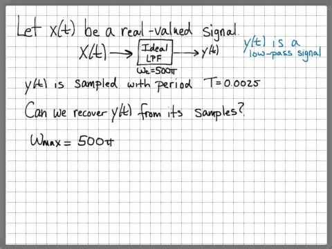 Nyquist Sampling Problem 03