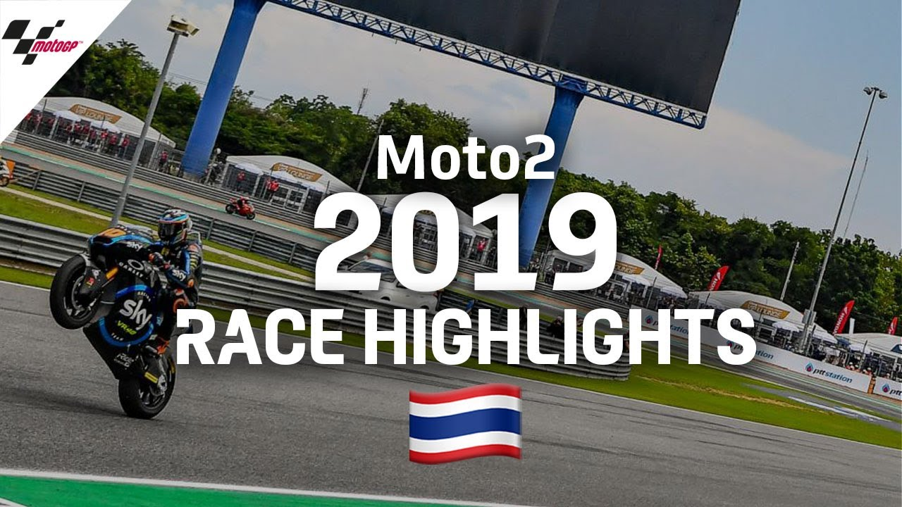 2019 #ThaiGP | Moto2 Race Highlights
