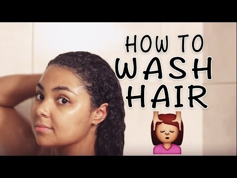 THE RIGHT WAY TO WASH YOUR HAIR | Healthy Hair Wash Routine