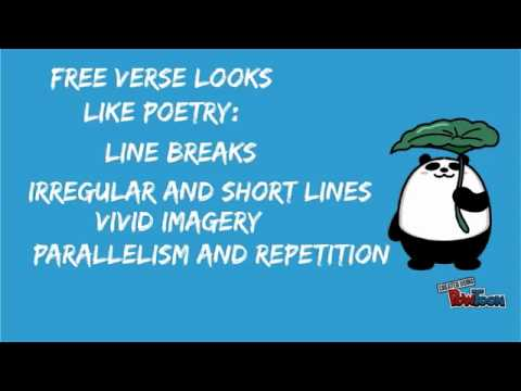 What Is Free Verse Poetry