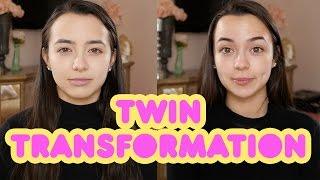Twins Transformation into Marilyn Monroe & Audrey Hepburn | Merrell Twins