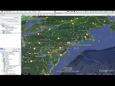 How to Track Flight Paths in Google Earth : Google & Internet Browsers