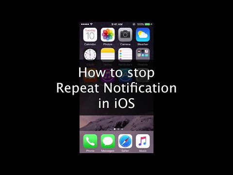 [How-To] Stop Repeat Notification/Double Notification in iPhone / iPad / iOS