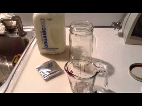 What you need to get started with rehydrating kefir grains 2