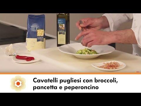 Cavatelli pugliesi Sapori&Dintorni Conad con broccoli, pancetta e peperoncino   Ricette