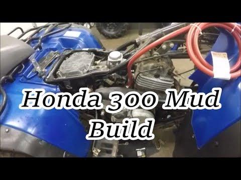 Honda 300 Fourtrax Build for Mud Nats