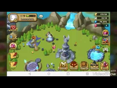 Fighting off Monsters! : Summoners War