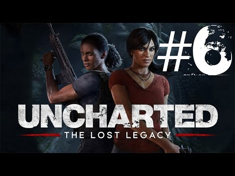 Uncharted: The Lost Legacy | Läpipeluu | Osa 6 | Vesiputous | Suomi/Finland/FIN