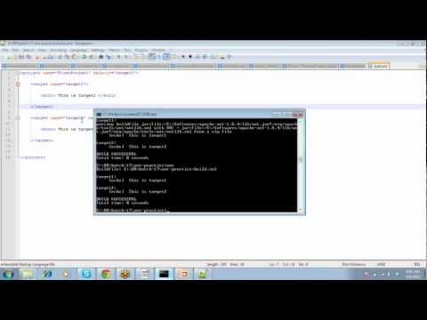 Apache ANT - Installation-Overview-step-by-step-build-script-Session-1/3