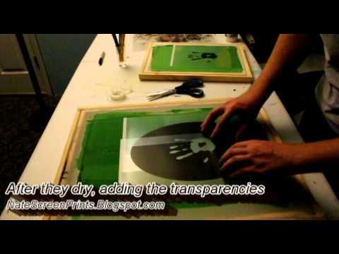 Screen Printing at Home with Speedball: Skyrim The Dark Brotherhood Thermal Shirt