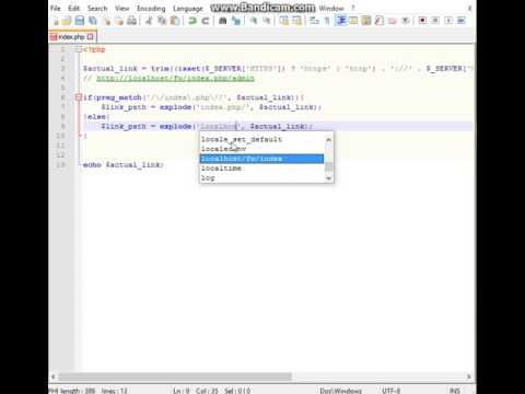 Create OOP PHP Framework MVC for 80 minutes Part 1