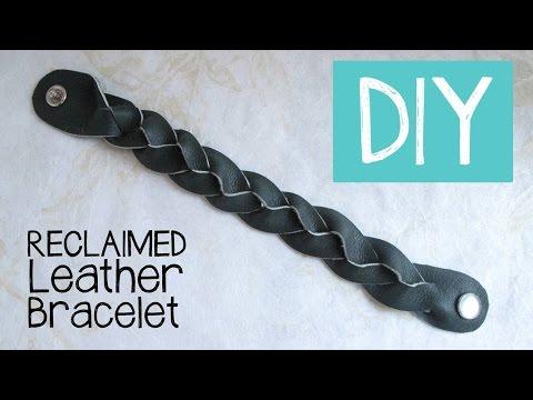 DIY Magic Mystery Braid Leather Bracelet Tutorial