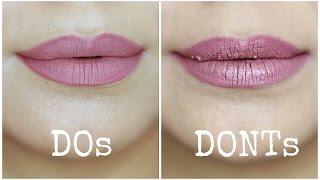 Liquid Lipstick Mistakes to Avoid | Do