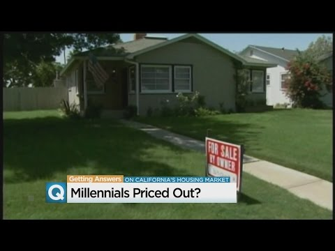 Are Millennials Getting Priced Out Of California Homes?
