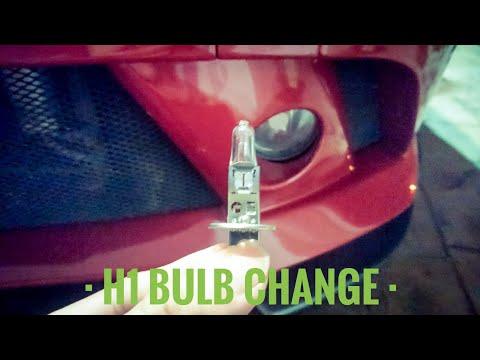 H1 Spotlight Fog Light Halogen Bulb Change Proton | Cars