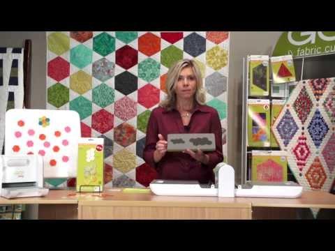 Fabric Die Cutting: English Paper Piecing Hexagon-1/2