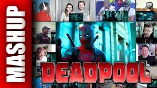 DEADPOOL 2 Teaser Trailer Reactions Mashup