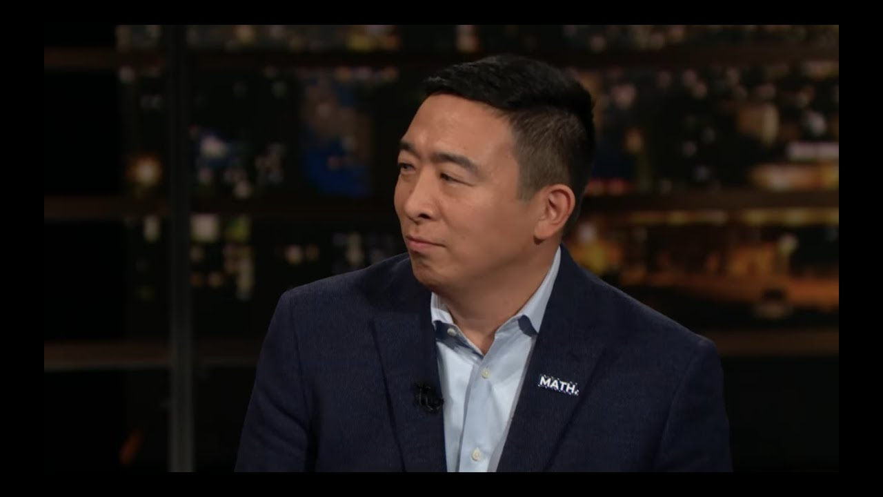 Andrew Yang 2020 | Real Time with Bill Maher (HBO)