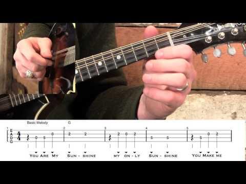 Basic Mandolin- You Are My Sunshine