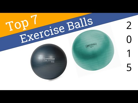 7 Best Exercise Balls 2015