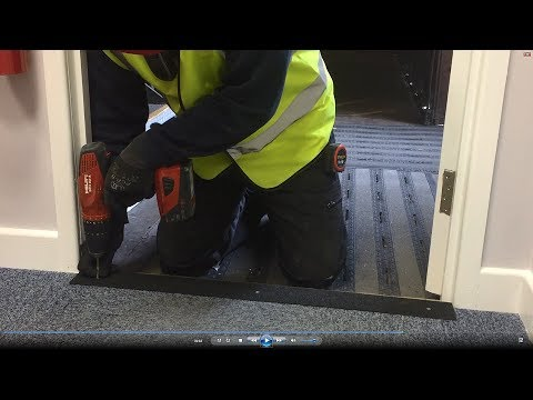 How to Remove and Install an Anti Slip Fibreglass Stair Nosing
